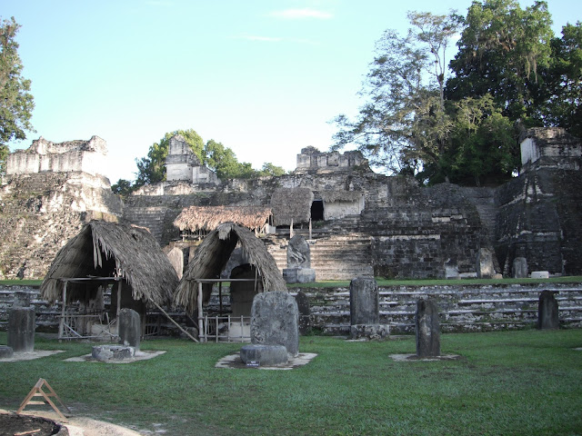Tikal National Park Guatemala Mayan ruins temple