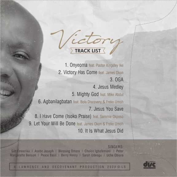 [Album] Lawrence & Decovenant – Victory