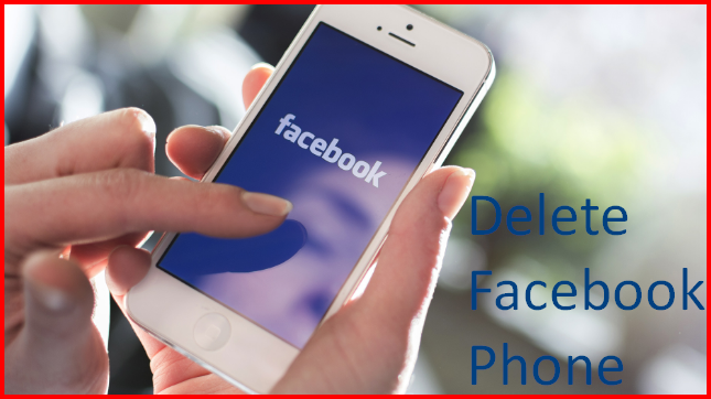 How to delete facebook from mobile ccuart Choice Image