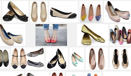 sepatu ballet flat