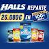 Halls reparte 25.000€ en Tarjetas Regalo de 100€