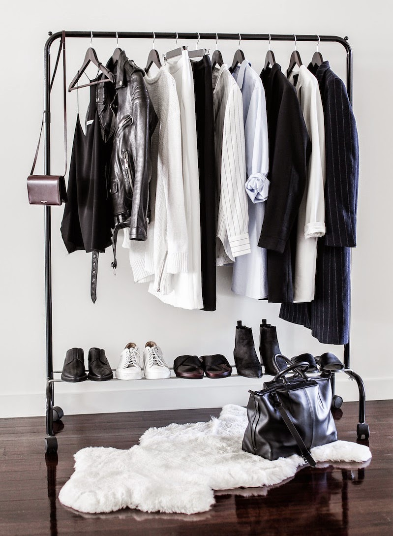 basics-blakc-white-wardrobe-shirts-pants-blazers-jackets