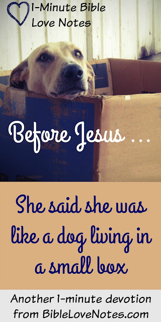 Living In A Small Box... Her life before Jesus in Communist Hungary