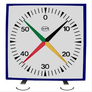 Chronometre mural natation