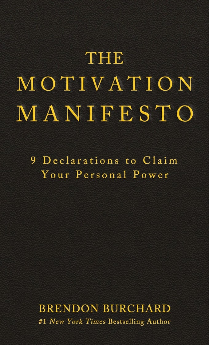 The Motivation Manifesto by Brendon Burchard FREE Ebook Download