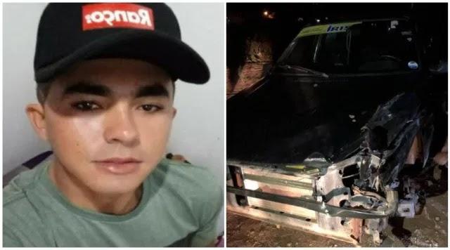 Jovem de 22 anos perde a vida em acidente na PB-293, em Paulista