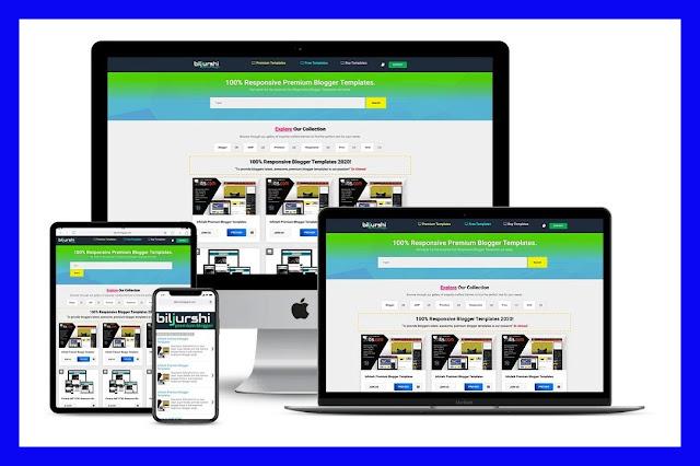 Biljurshi AMP Premium Blogger Template
