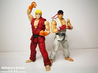 S.H.Figuarts Ken Masters de Street Fighter - Tamashii Nations
