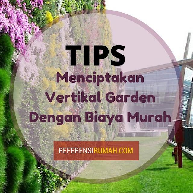 Yuk! Bikin Vertikal Garden Low Budget Dengan Bahan Sederhana