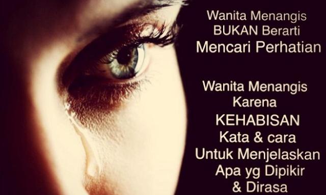 Berita Islam Terkini - Bagi kamu para kamu laki-laki yang sekarang ini sedang mencintai, dicintai atau memcari seorang wanita. Maka cintailah dia dan sayangilah dia. Karena pada hakikatnya wanita itu ada untuk di sayangi dan dicintai bukan malah membuatnya menangis lalu memilih untuk pergi.