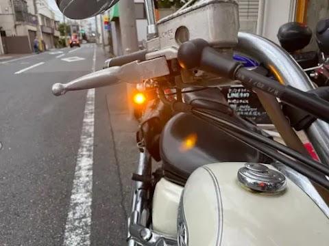 車検通るの?たったの7㎜?バイク用極小ウィンカー!