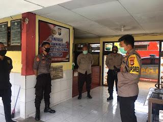 Kapolres Pelabuhan Makassar Patroli dan Cek Kesiapsiagan Personel Polsek Jajaran
