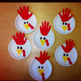 Diy Craft Of Paperplate Hen