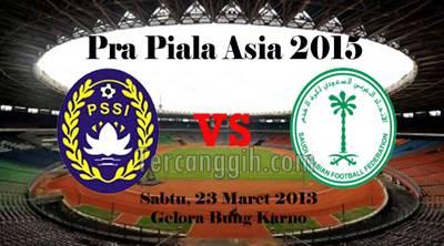 Indonesia VS Arab 2013 Pra Piala Asia