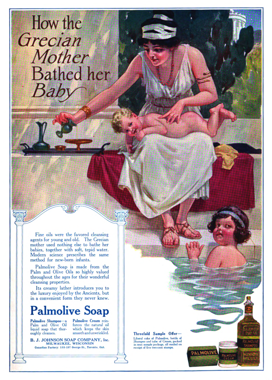 Palmolive Soap, ad March 1915