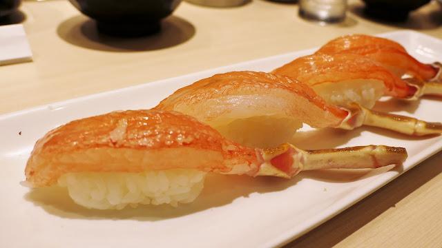 250yen 蟹腳壽司