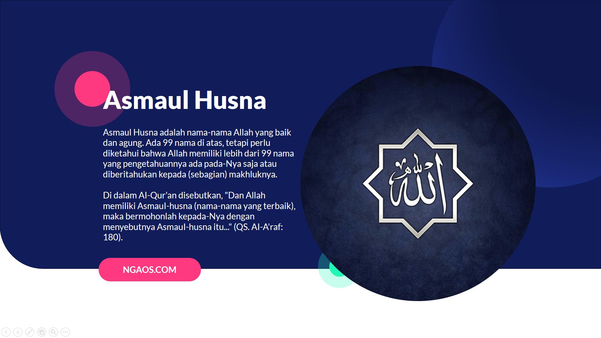 Asmaul Husna, Doa Asmaul Husna, Asmaul Husna Artinya,  Asmaul Husna Merupakan, 99 Asmaul Husna,  Nama Nama Allah,