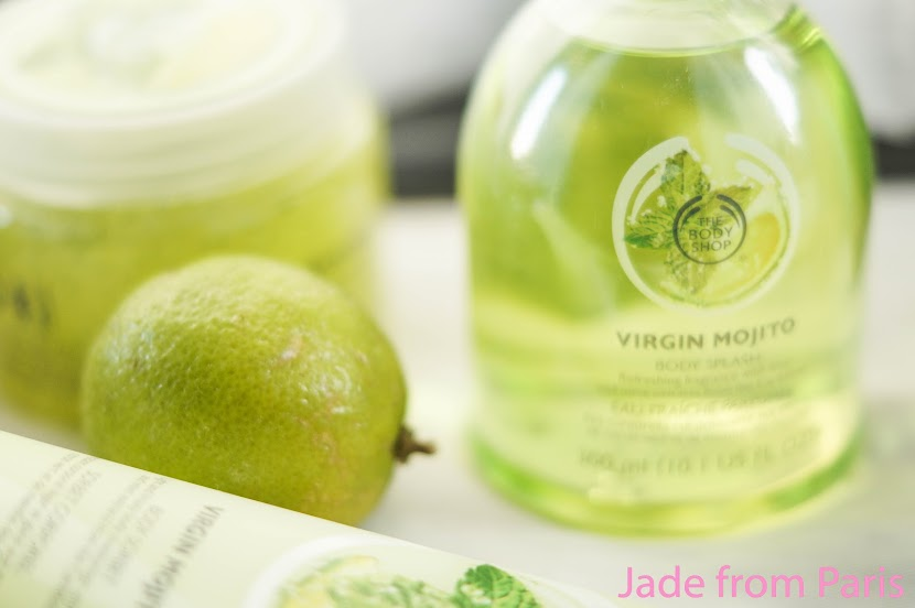 virgin mojito the body shop