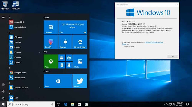 Windows 10 Pro Lite Edition v7 Free Download