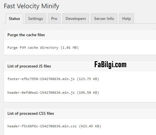 Wordpress CSS ve JavaScript Dosyalarını Sıkıştırıp Küçültme Eklentisi Yapımı