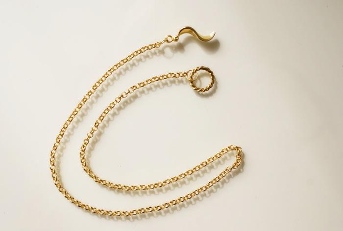 collana cerchio faidate tiny necklace
