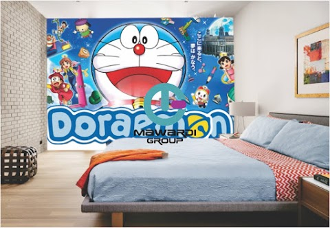 Wallpaper Custom Kartun | Jual Wallpaper Custom Kartun Jogja | Jual Wallpaper Custom Kartun Doraemon Jogja
