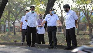 Walikota Tangerang Monitoring Pembangunan Jalan dan Kali Mookervart