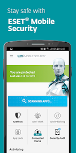ESET Mobile Security & Antivirus Premium v5.2.68.0 APK + Keys