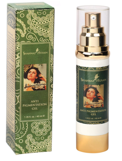 Shahnaz Husain Anti Pigmentation Gel, Purple, 40ml (Best Shahnaz Husain Products)