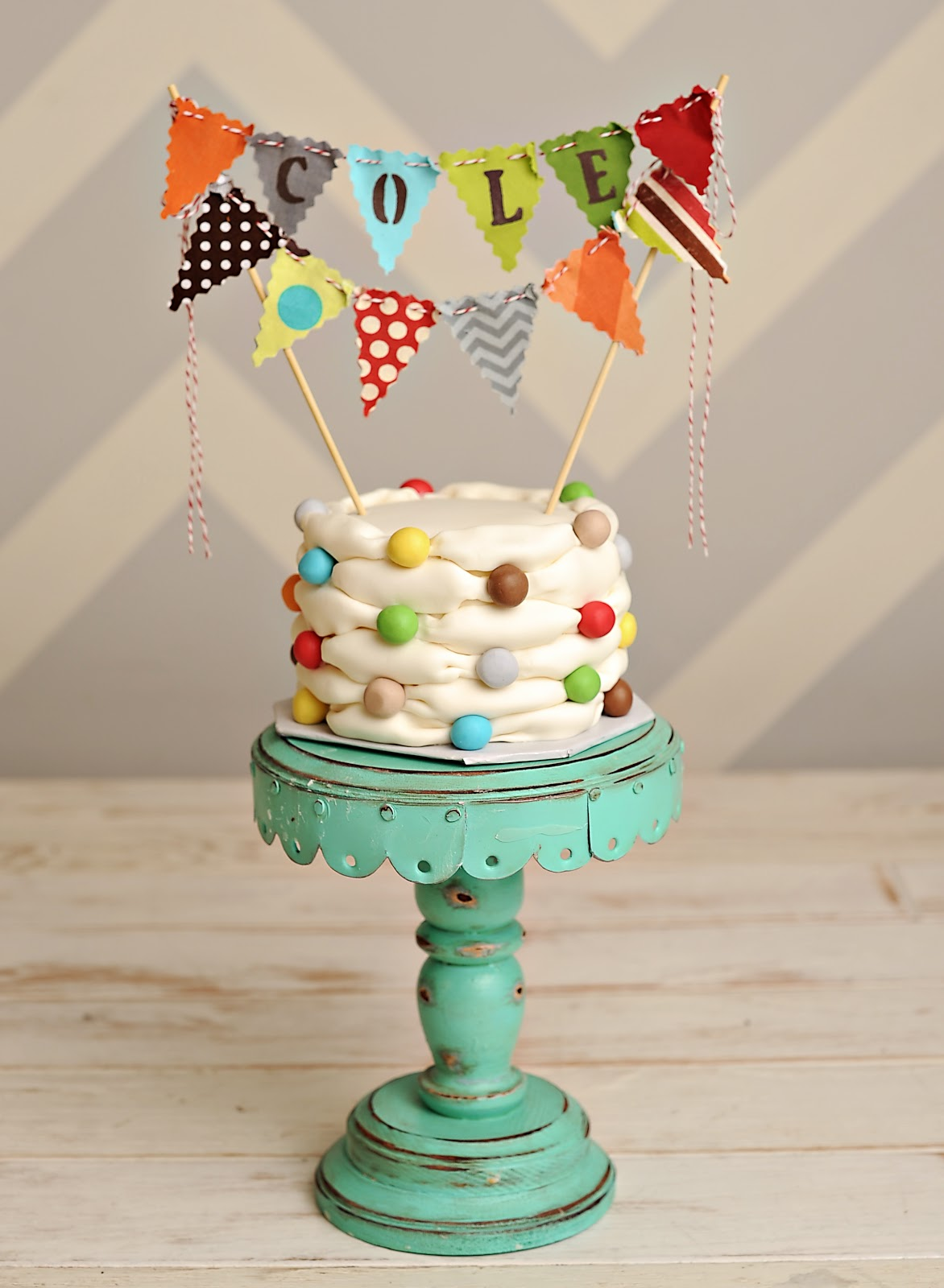 Bunting Designs For Cakes