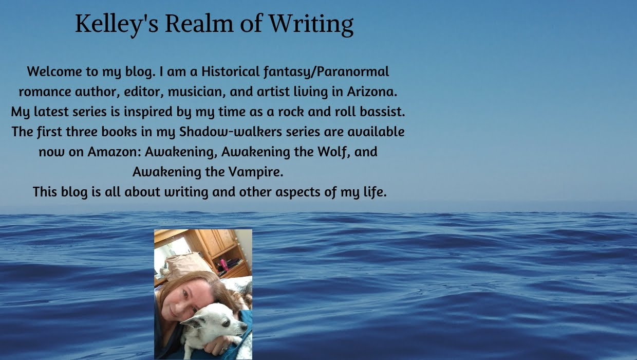 Kelley's Realm of Writing
