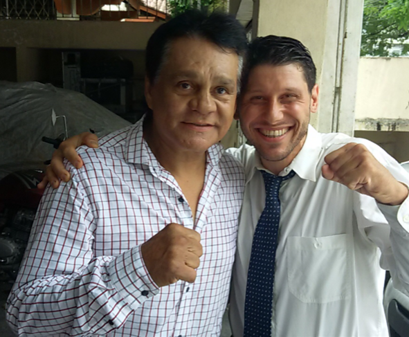 "The Panamanian Professional Boxer Roberto ""Hands of Stone"" Duran"
