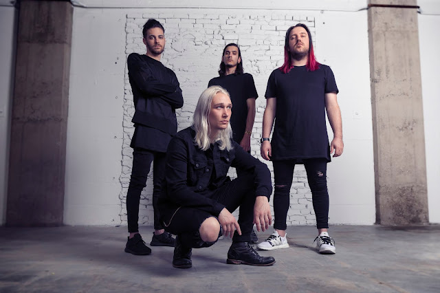 Metalcore four-piece band Afterlife release a single entitled Wasting Time