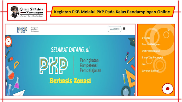 Kegiatan PKB Melalui PKP Pada Kelas Pendampingan Online