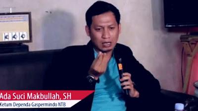 Ketua Umum DPD Gaspermindo NTB Pertanyakan Penangkapan Jumhur Hidayat