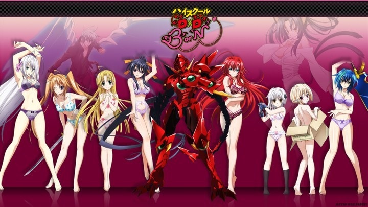 High School DxD BorN BD Subtitle Indonesia Batch