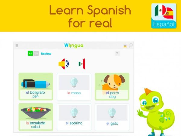 Wilingua: Aplicación gratis para aprender español