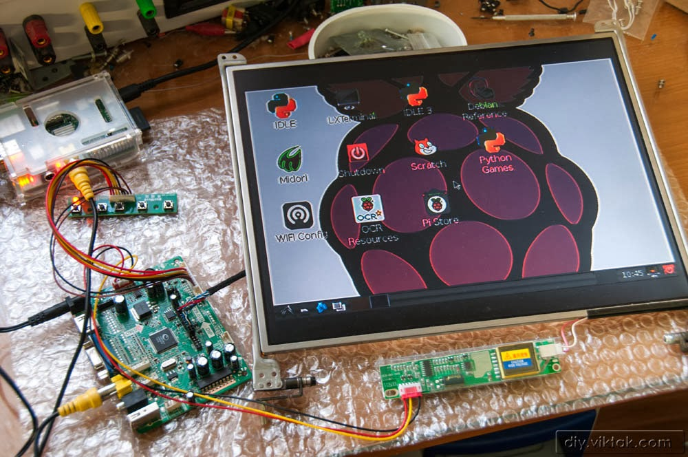 Viktor S Diy Giving New Life To Lcd Screens From Old