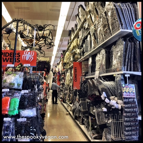 The Spooky Vegan: Halloween 2017 at Party City
