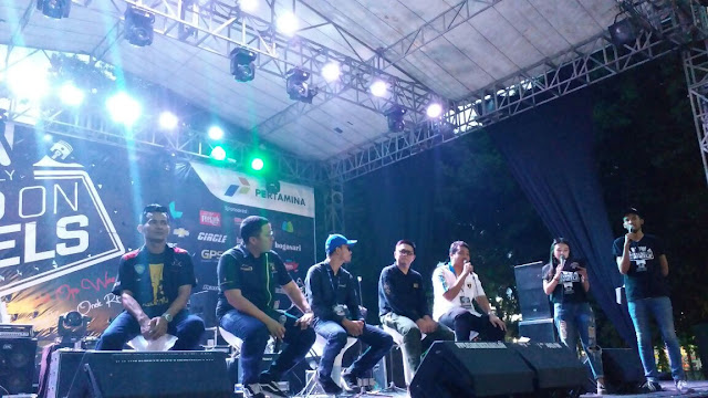 Talkshow SPBU Pasti Prima Oleh Pertamina di Weekend on Wheels Surabaya