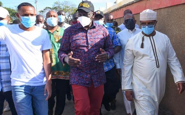 Deputy President William Ruto in Mombasa