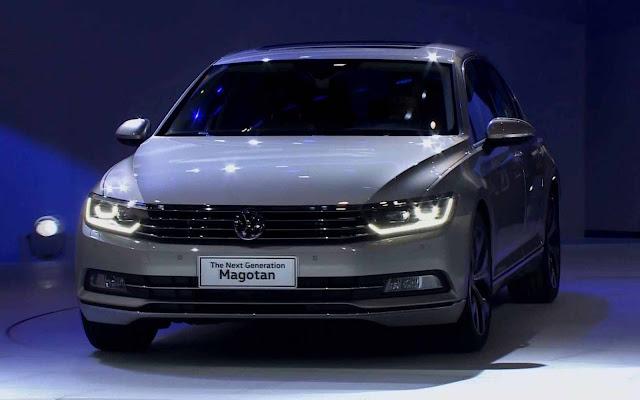novo VW Magotan 2017