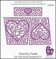 ODBD Custom Heavenly Hearts Dies