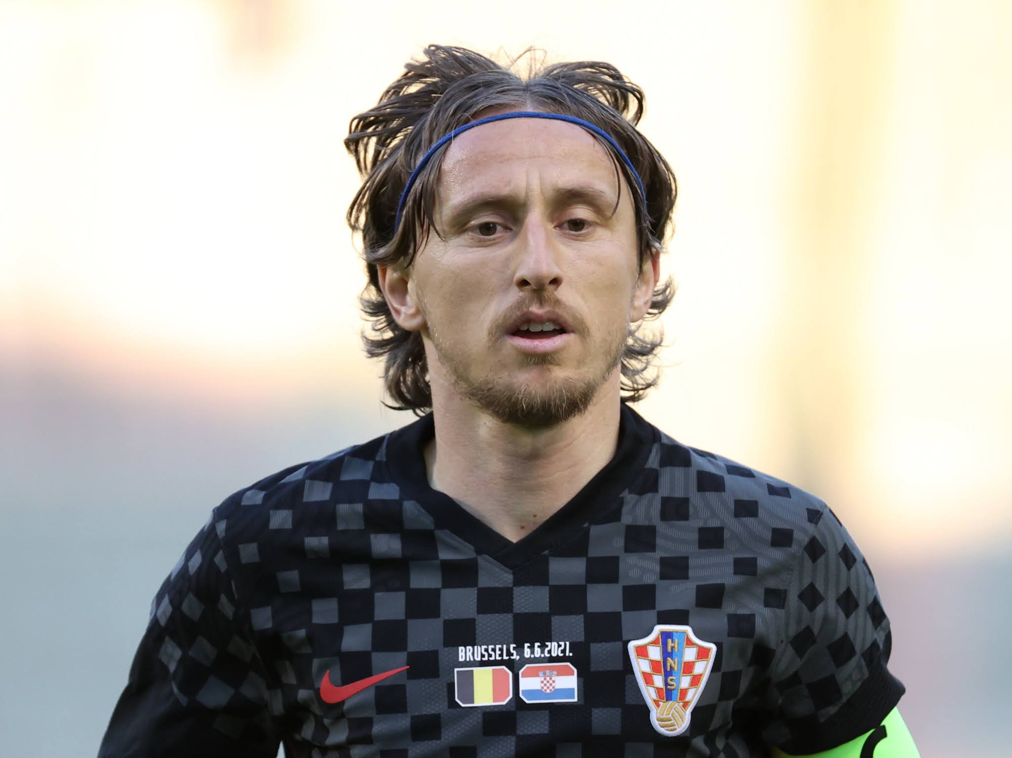 Croatian playmaker Luka Modric