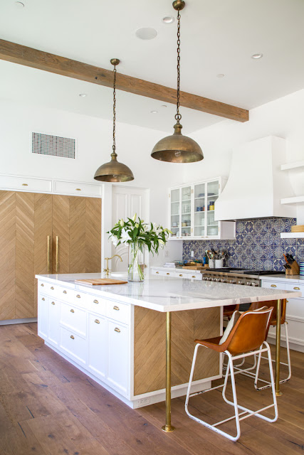Crushing on: limed oak in the kitch