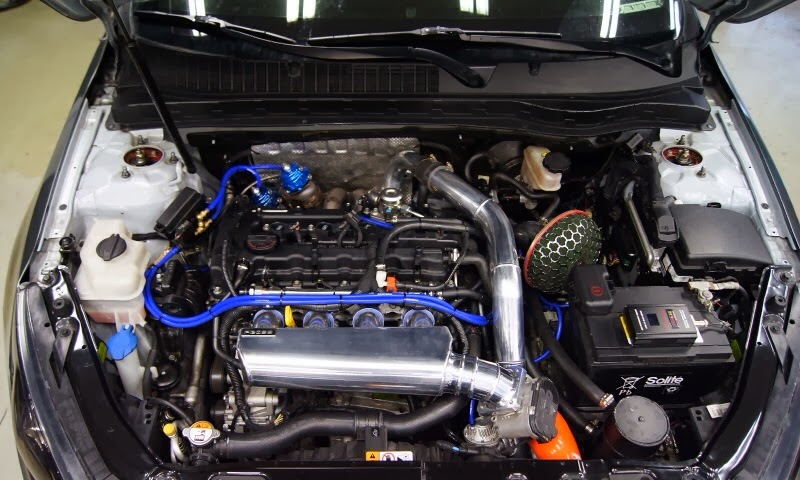 Modification under hood