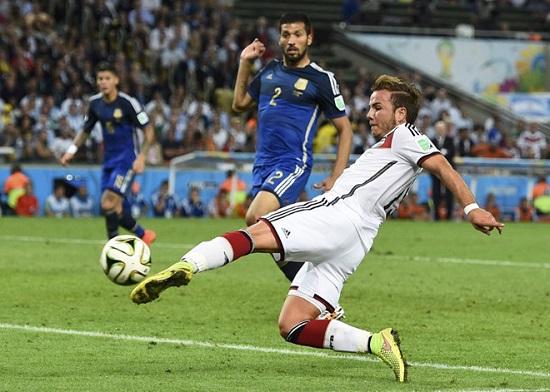 Cầu thủ xuất sắc nhất trận chung kết: Mario Gotze