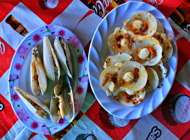 Diwal Shells and Scallops in Roxas City