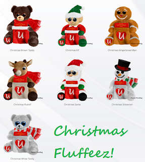 fluffeez christmas collection