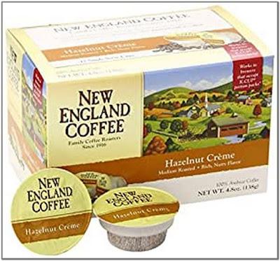 New England Coffee Hazelnut Crème K Cups;New England Coffee K Cups;